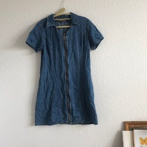 Vintage Jeans by Express denim dress